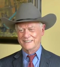 Tributes are paid to TV star Larry Hagman