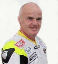 Funeral of motorcycle road racer takes place